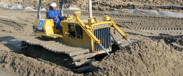 Ứng dụng của cát trong việc san lấp mặt bằng
