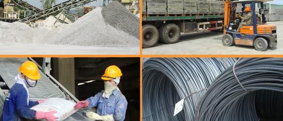 Bảng báo giá vật liệu xây dựng Tháng 10 tại Nam Thành Vinh