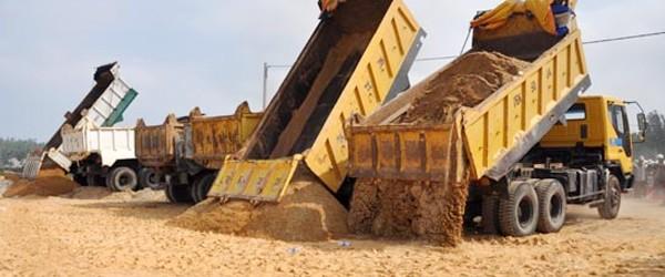 Bảng báo giá cát đá xây dựng tháng 7 tại TPHCM