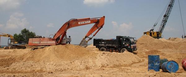 Việt nam có nguy cơ cạn kiệt cát trong vòng 5 năm tới