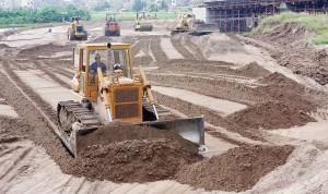 Giá cát xây dựng tăng cao vào cuối năm
