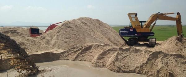 Kinh nghiệm chọn cát xây dựng chất lượng